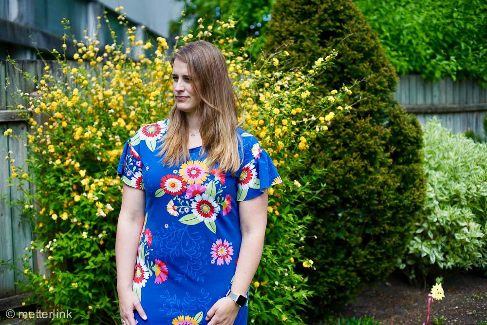 metterlink näht: Lana Dress von Coffee&Thread aus enemenemeins Lillestoff