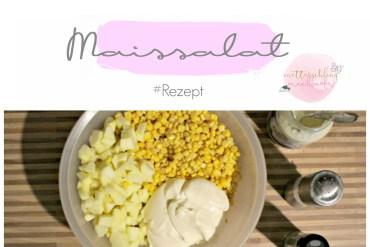 Maissalat rezept sommer party grilen