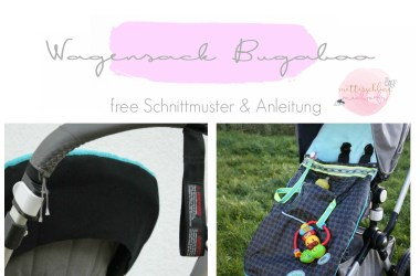 Bugabooo schnittmuster wagensack fußsack anleitung kostenlos free