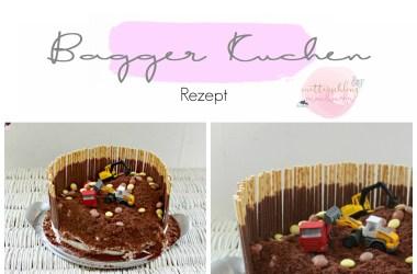 Bagger Kuchen geburtstag Kinder