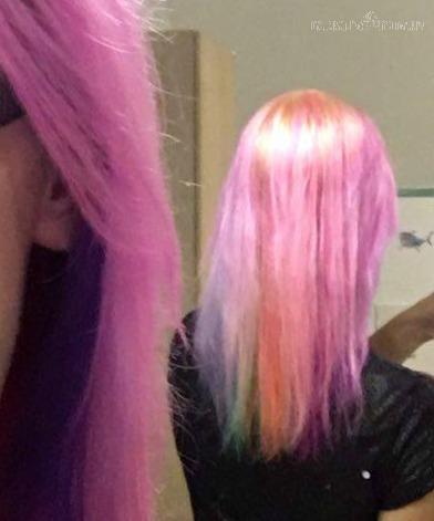 regenbogen haare so funktioniert das färben anfänger