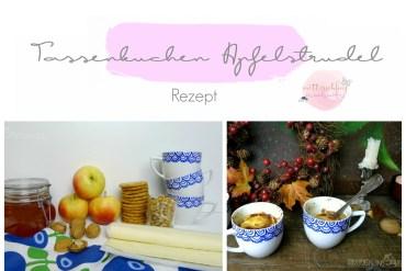 tassenkuchen rezept idee apfelstrudel