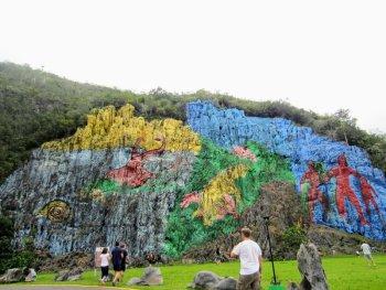 vinales cuba vægmaleri