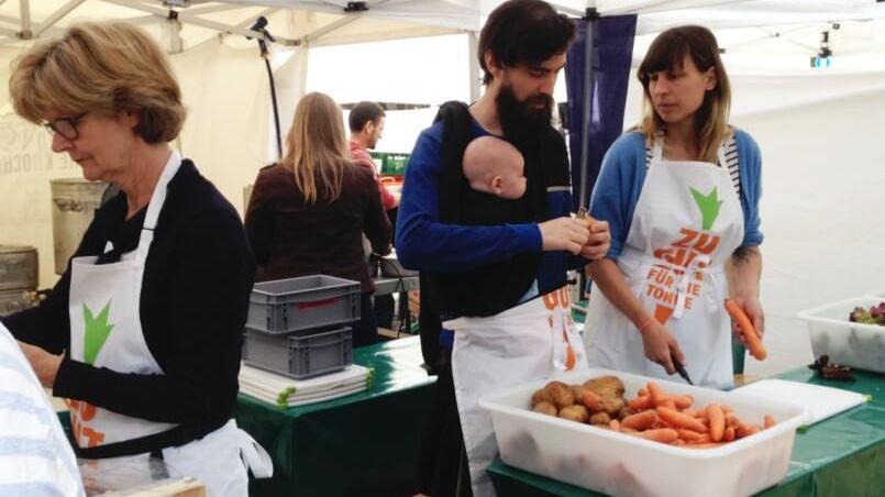 Aktionstag Köln rettet Lebensmittel