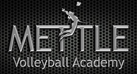 mettle volleyball logo