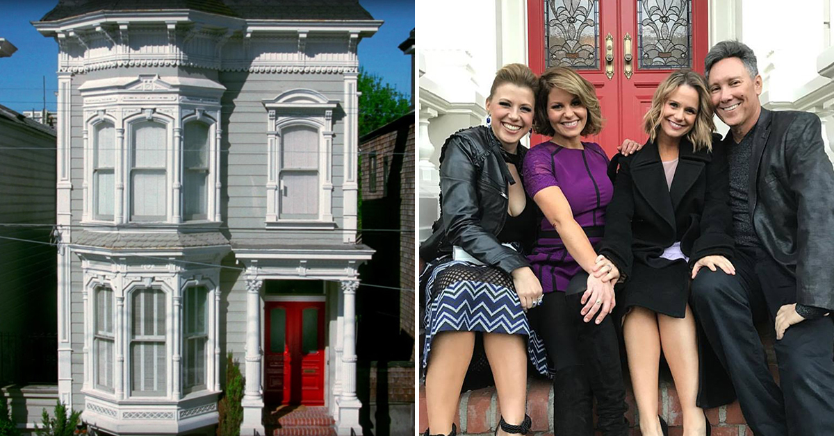 Full House  cast returns to iconic home  Full House  cast returns to iconic home