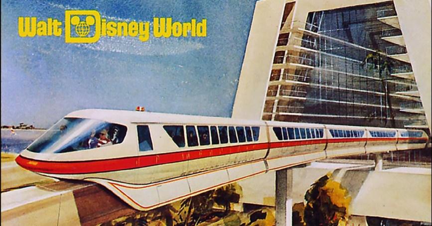 Image result for disney monorail walt disney world vintage