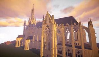 Cathedrale Metz Minecraft