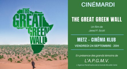"""projection """"the great green wall"""""""