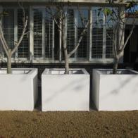 Polyester plantenbakken