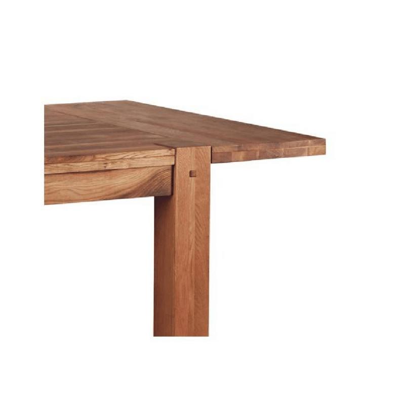 rallonge table carree chene huile oakwood 40cm