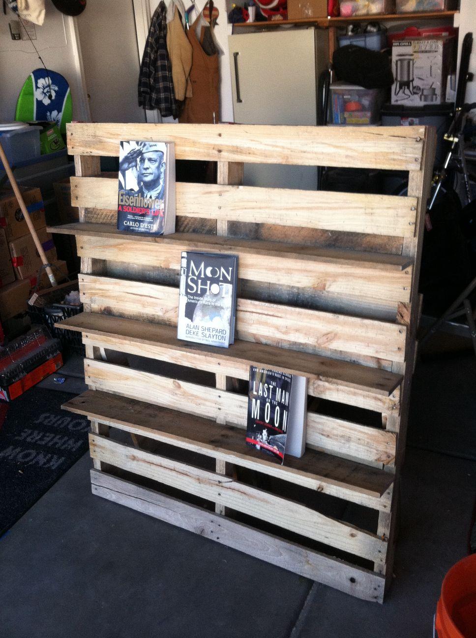 Bibliothque Et Chaise Dextrieur En PalettesMeuble En