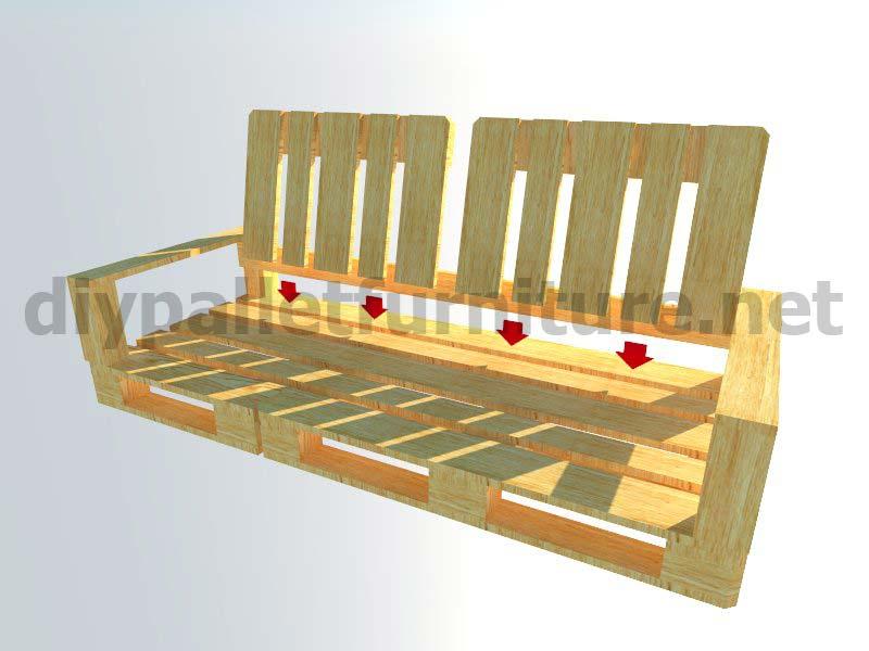 Meubles En Kit Pour Le Jardin Canap Dextrieur Avec Des