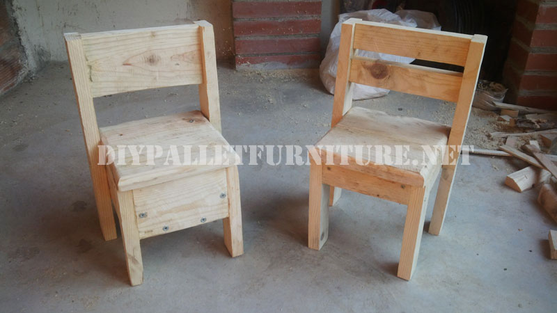 Chaises Pour Les Enfants Avec Des PalettesMeuble En