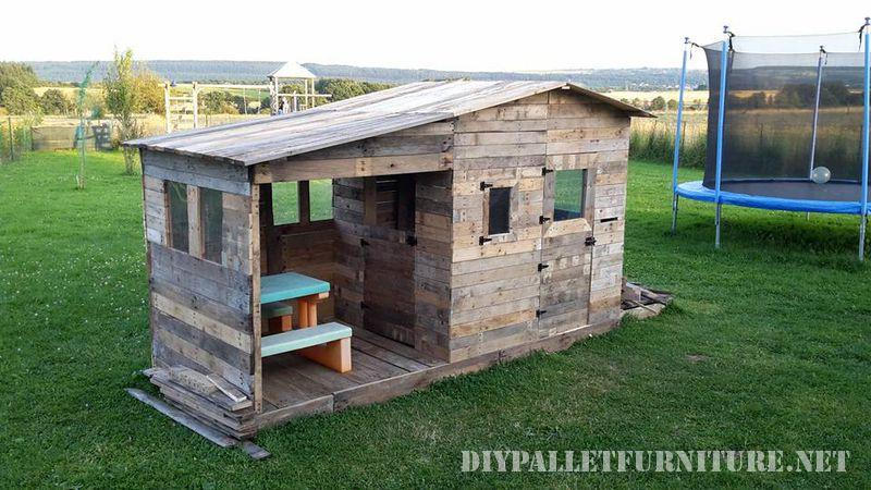 Spectaculaire Maison Pour Les Enfants Fait Avec Des