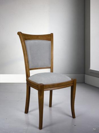 chaise pauline en merisier massif de