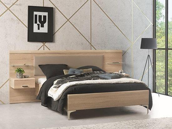 lit 2 places en bois personnalisable