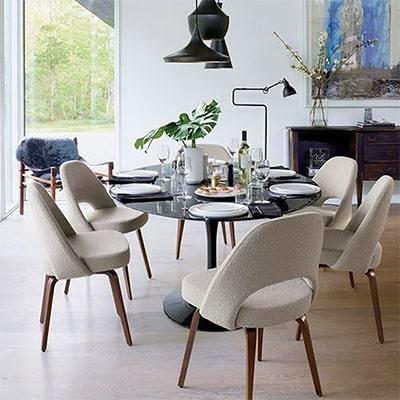 combien de chaises autour d une table