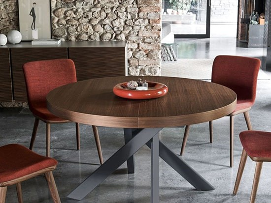 table ronde extensible calligaris