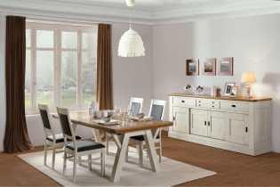 salle a manger romance en chene massif de france ateliers de langres meubles duquesnoy frelinghien nord lille armentieres