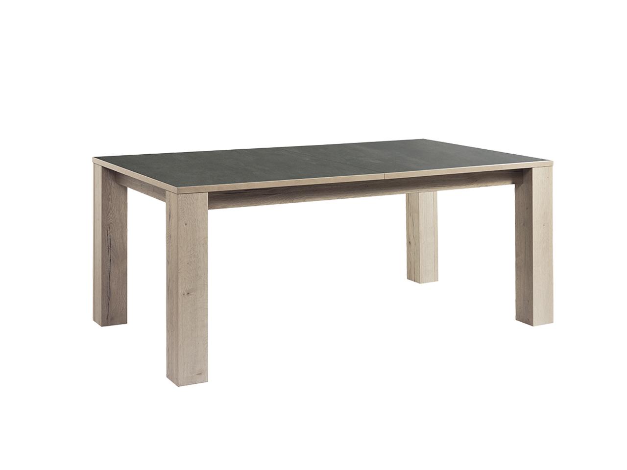 table himalaya 180 pieds bois chene