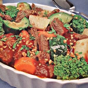 Picadinho de Carne com Legumes