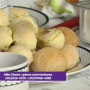 Pão de Batata com Chia (Sem Gluten)