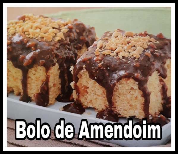 Bolo de Amendoim