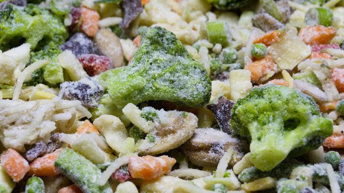 Vegetais congelados garantem variedade no dia-a-dia