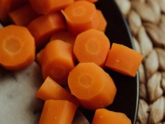 Tempo de cozimento das cenouras