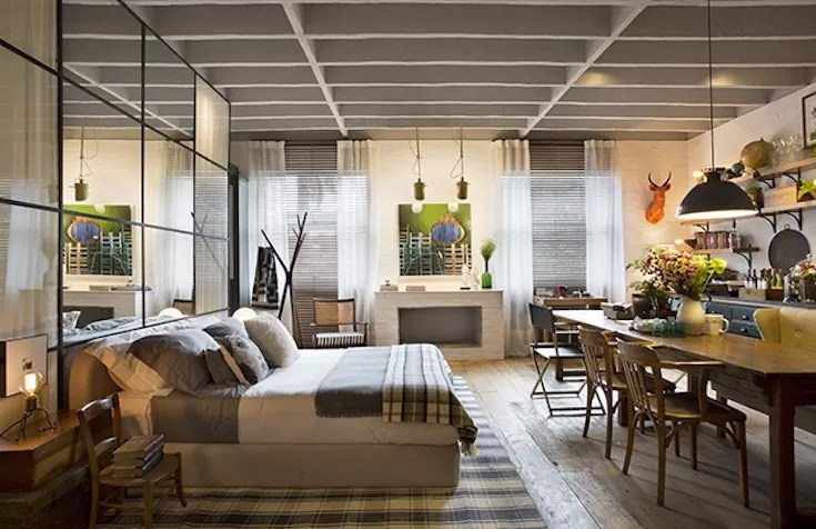 como misturar estilos na decoração como um designer estilo rústico urbano
