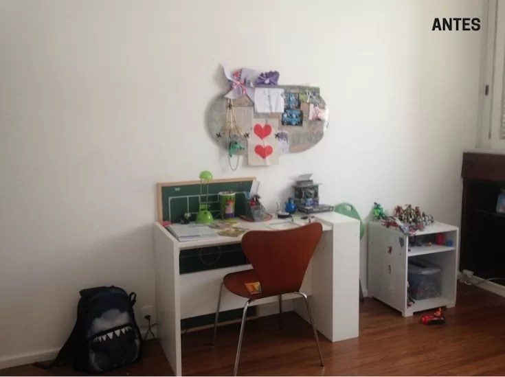 Decoração de quarto jovem barato antes e depois