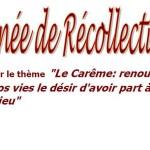 MCR Triel : récollection de carême