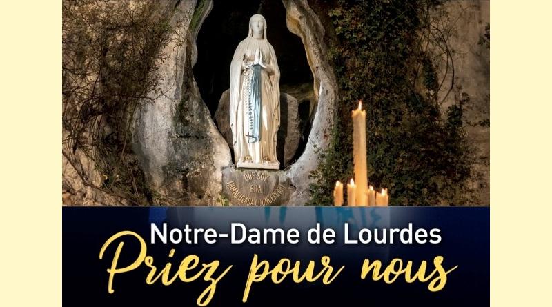 Neuvaine de prière à Notre-Dame de Lourdes