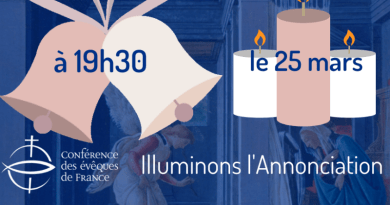 Le 25 mars : illuminons l'Annonciation !