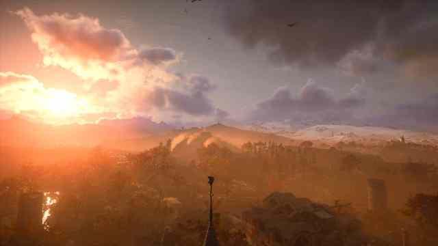 Assassin's Creed Valhalla acerta muito na ambientação (Foto: Reprodução/Thiago Barros)