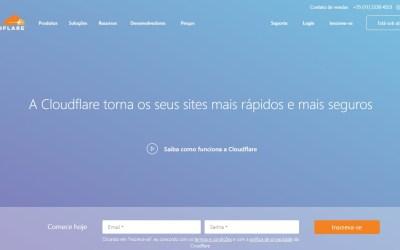 Como criar um conta Cloudflare e atribuir um administrador
