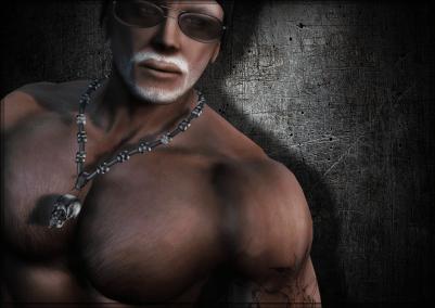 Meva Mens Skull Necklace 2 Ad Pic