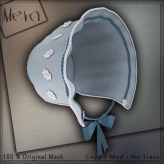 Meva Bonnet Blue Vendor