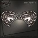 Meva Greta Headpiece Silver Vendor