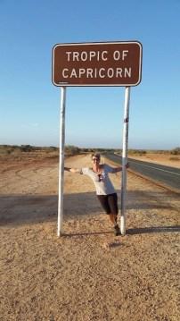 Día 5. Hacia Coral Bay y cruzando el Trópico de Capricornio