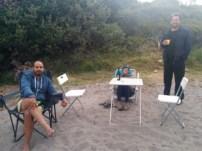 Día 12. Campamento base en la playa.
