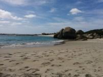 Día 14. Playa donde acampamos en Two Peoples Bay National Park