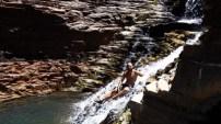 Día 9. Karijini National Park. Hancock Gorge. Dales Gorge. Piscinas. Y cascadas!