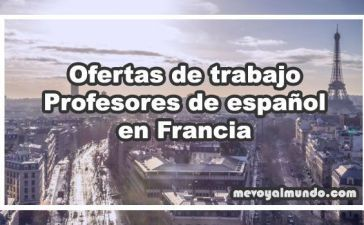 Ofertas de trabajo para profesores de español, ELE, en Francia