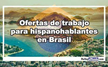 Ofertas de trabajo para hispanohablantes en Brasil