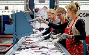 Trabajar en correos en Holanda