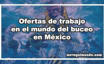 Ofertas de trabajo para buceadores en México