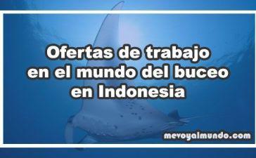 Ofertas de trabajo para buceadores en Indonesia
