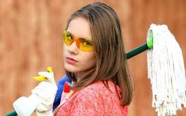Trabajar en la limpieza en el extranjero
